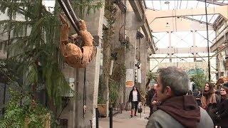 Nantes : les Machines de l'île accueillent le Paresseux
