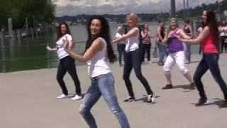 Nabila Bellydance: Shaaby Flashmob 2016 in Austria