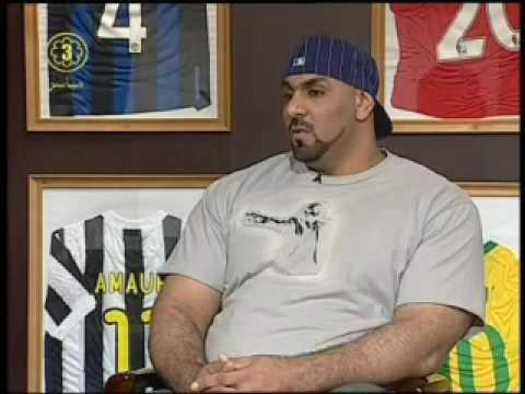 اقوى رجل في العرب مقابلة قناة الكويت الثالثة2222222 Youtube