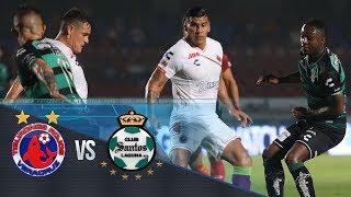 Resumen | Veracruz 2-2 Santos, Liga MX Clausura 2019