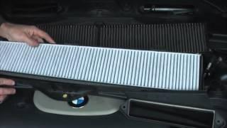 BMW E90. Замена фильтра салона