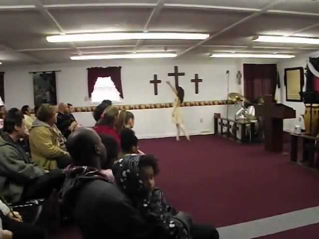 CHRISTINA ROSE CASTAGNOLI PERFORMING A WORSHIP DANCE - 3/24/13 Travel Video