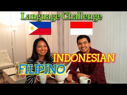 Similarities Between Filipino and Indonesian