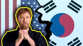 The day Chuck Norris cut ties with Korea