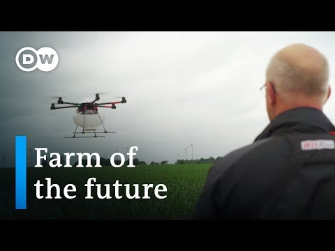 Drones, robots, and super sperm - the future of farming | DW