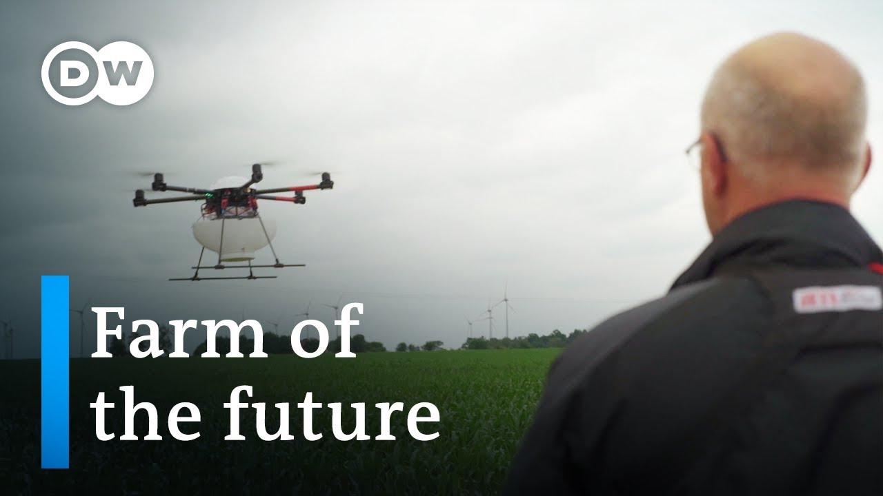 Drones, Robots, and Super sperm – the Future of Farming