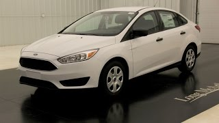 2015 Ford Focus S: Standard Equipment & Available Options Thumb