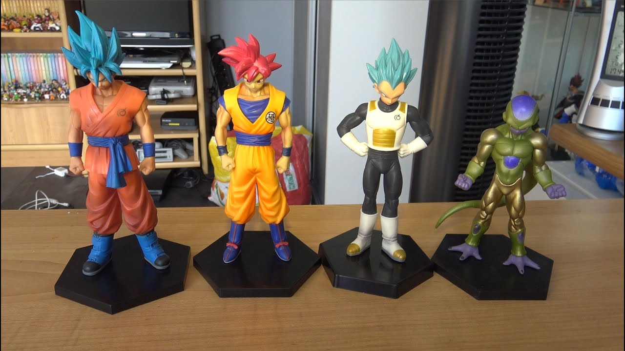 review figurines dragon ball super dxf les d di youtube. Black Bedroom Furniture Sets. Home Design Ideas