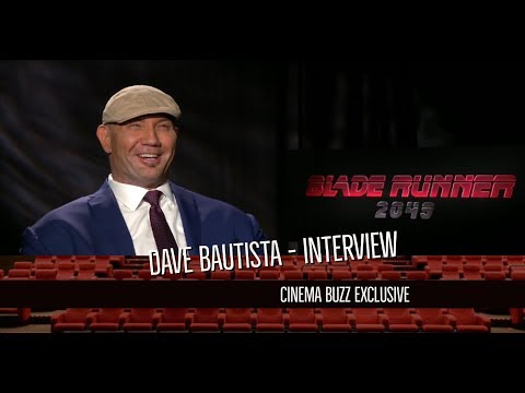Dave Bautista - Blade Runner 2049 Interview