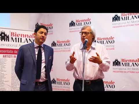 BIENNALE MILANO: Sgarbi si congratula con Salvo Nugnes per il grande successo