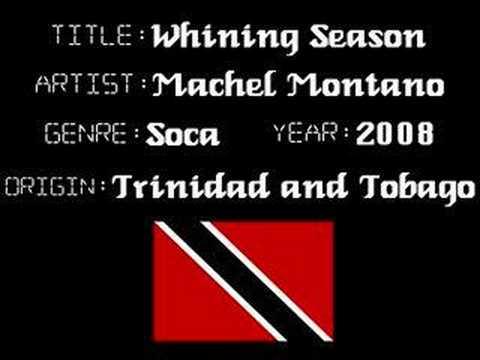Machel Montano - Wining Season - Trinidad Soca Music