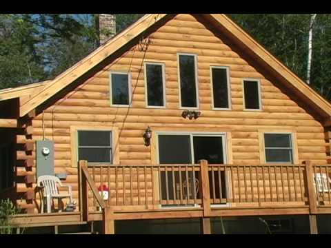Coventry log homes new home tour youtube for Coventry home builders