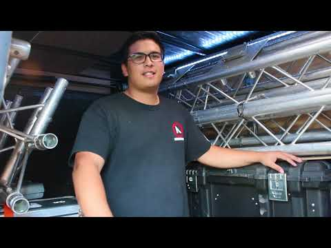 The ULTIMATE DJ Equipment Trailer! - Amp'd Entertainment '17