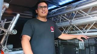 The ULTIMATE DJ Equipment Trailer! - Amp'd Entertainment '17