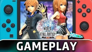 World of Final Fantasy Maxima | First 40 Minutes on Switch