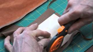 Lining A Wooden Box