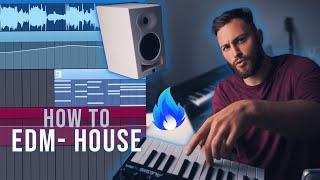 How I make Dark House EDM from scratch, produce like Meduza + Jax Jones, With Vocals in FL Studio