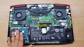 แกะงัดอัพเกรด เพิ่มความแรงคอมโน้ตบุ๊คเล่นเกม Acer Aspire VX5 (Fix & Upgrade )