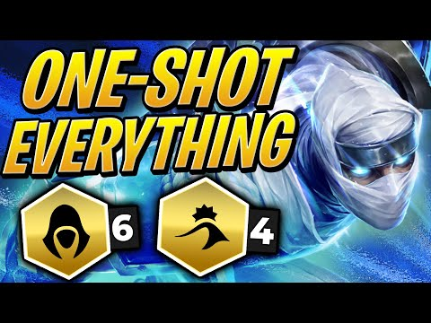 6 ASSASSINS WILL ONE SHOT EVERYTHING! | TFT | Teamfight Tactics Set 2 | League of Legends Auto Chess