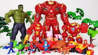 Hulk vs Hulkbuster, Marvel Villains are Coming, Go~! Avengers Spider man, Iron man, Captain America