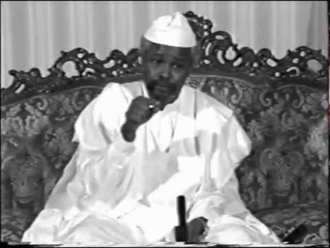 HISSEIN HABRE,président de la République du Tchad de 1982 à 1990,Brahim Ibni Oumar