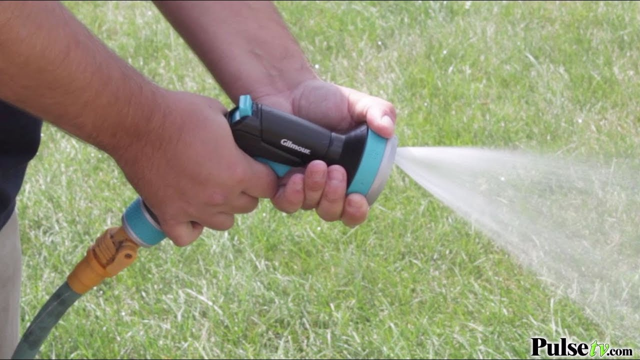 Gilmour Watering Heavy Duty Front Trigger Nozzle-1