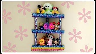 #diy Cardboard Corner Shelf / Rack / Room #organizer #tutorial