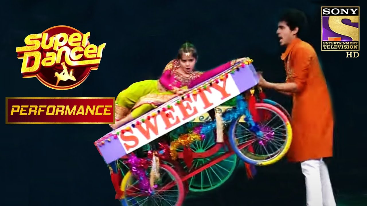 "Manan And Vaishnavi's High-Spirited Dance On ""Sweety Tera Drama""   Super Dancer Chapter 2"