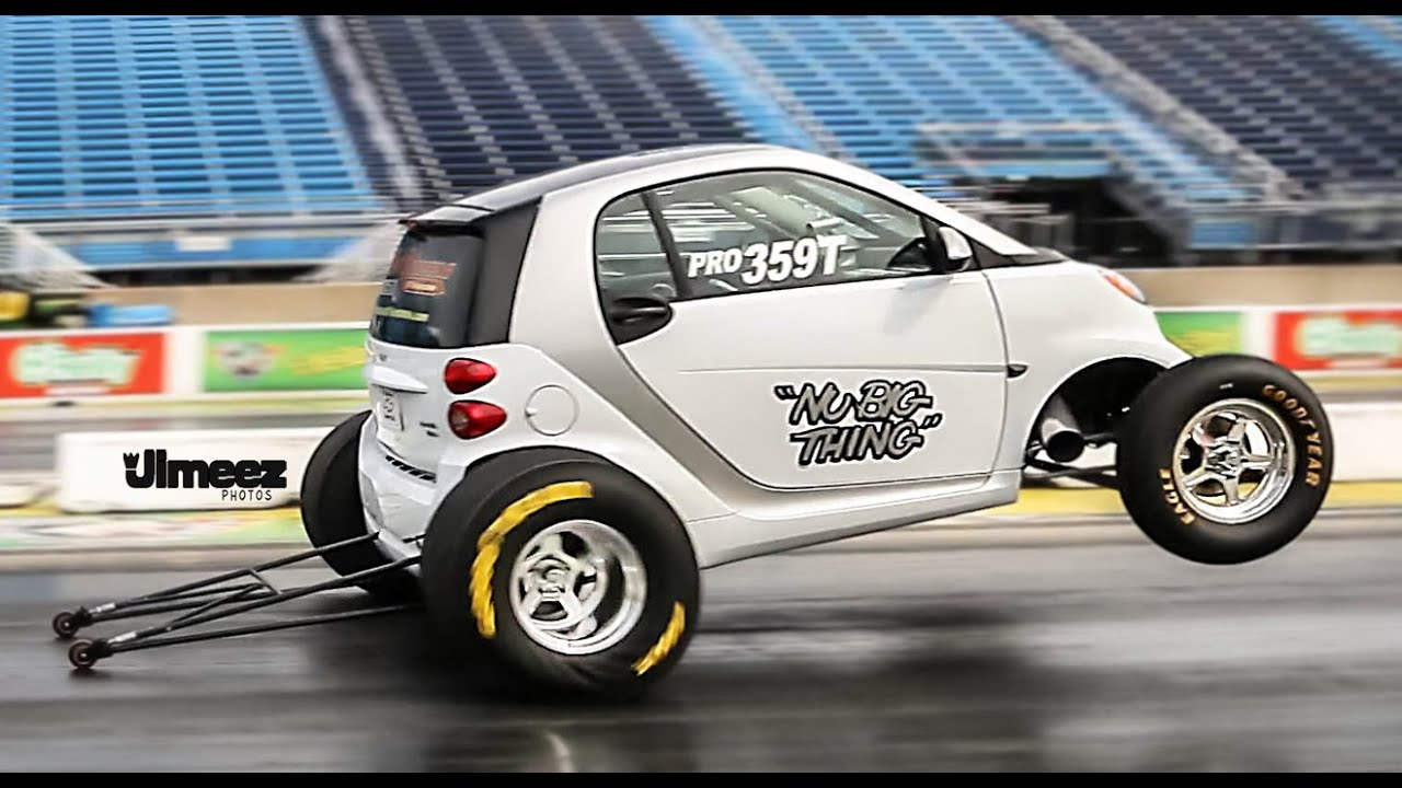 World S Fastest Smart Car Runs 10 26 130 83mph At Rt66 You
