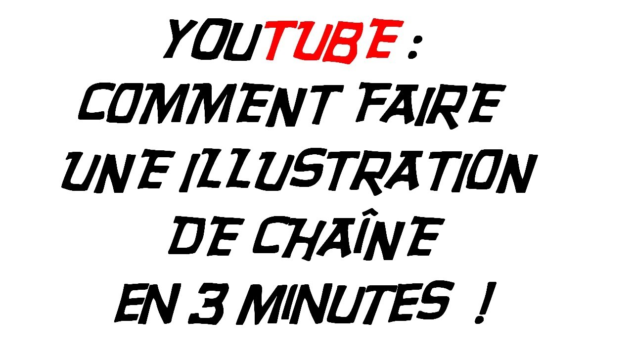 tutoriel   comment faire une illustration de cha u00eene en 3 minutes