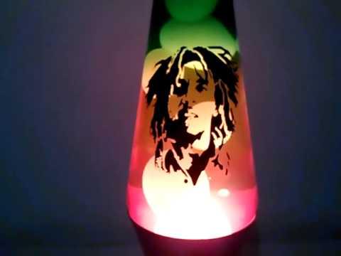 Lampara de lava de Bob Marley - YouTube