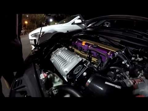 Supercharged Acura TSX vs Supercharged Civic Si