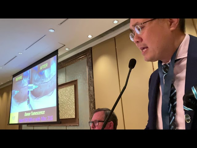 Dallas Hair Transplant Surgeon Lectures on FUE/FUT Anesthesia