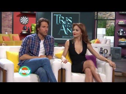 Tres Veces Ana | Sebastián Rulli, Angelique Boyer, David Zepeda y Pedro Moreno en HOY