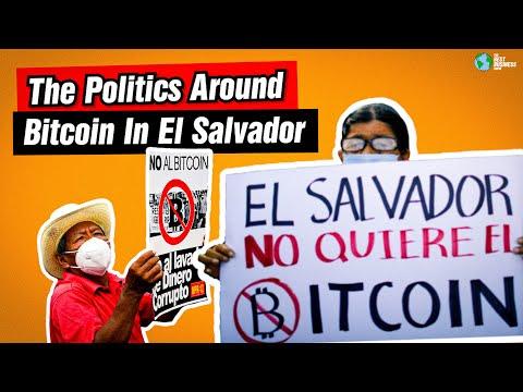 How Bitcoin Effecting Politics In El Salvador Today.