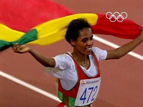 Derartu Tulu Wins Olympic Gold | Barcelona 1992 Olympics