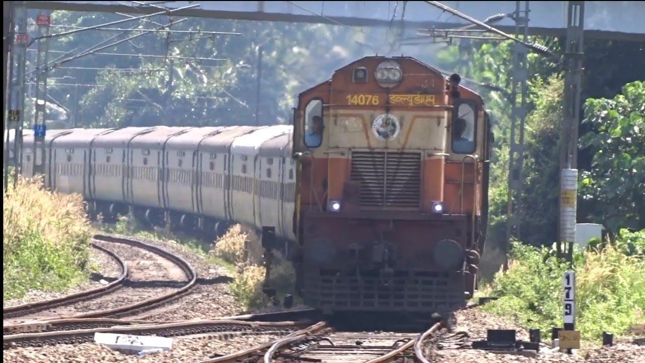 2 in 1 compilation   Kochuveli Lokmanya Tilak Garib Rath express