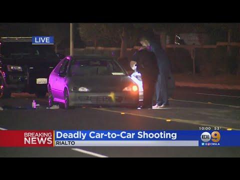 2 Killed In Car-To-Car Shooting In Rialto