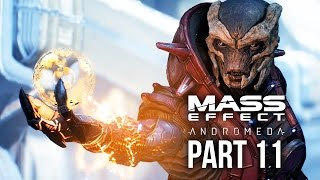 MASS EFFECT ANDROMEDA Walkthrough Part 11 - A TRAIL OF HOPE (Female) Full Game
