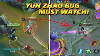 TELEPORT ENEMY TO YOUR BASE! CRAZY YUN ZHAO BUG - MOBILE LEGENDS