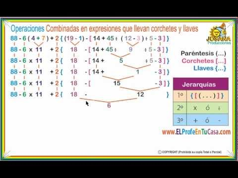 Operaciones combinadas - Clases de Matemáticas - www.MatematicaPasoAPaso.com