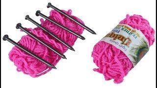 উলের সুতা দিয়ে ইউনিক ক্র্যাফট আইডিয়া   Awesome-Craft-Idea-Out-Of-Wool