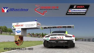 iRacing IMSA Porsche 911 RSR @ Canadian Tire Motorsports Park // Virtual Reality