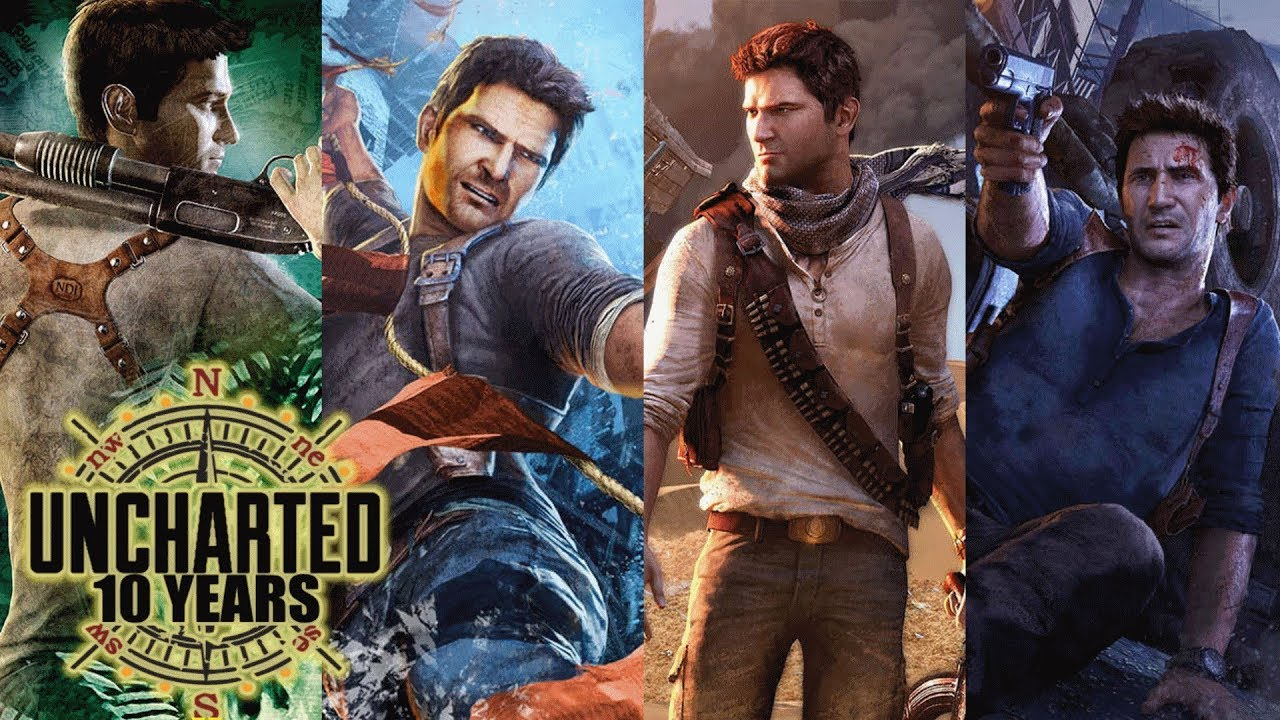 Uncharted 10 Year Anniversary - Celebrating 10 Awesome ...