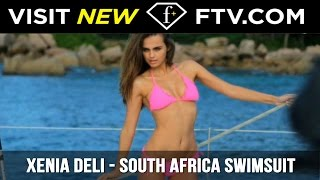 Repeat youtube video Xenia Deli - HOT South African Swimsuits | FTV.com