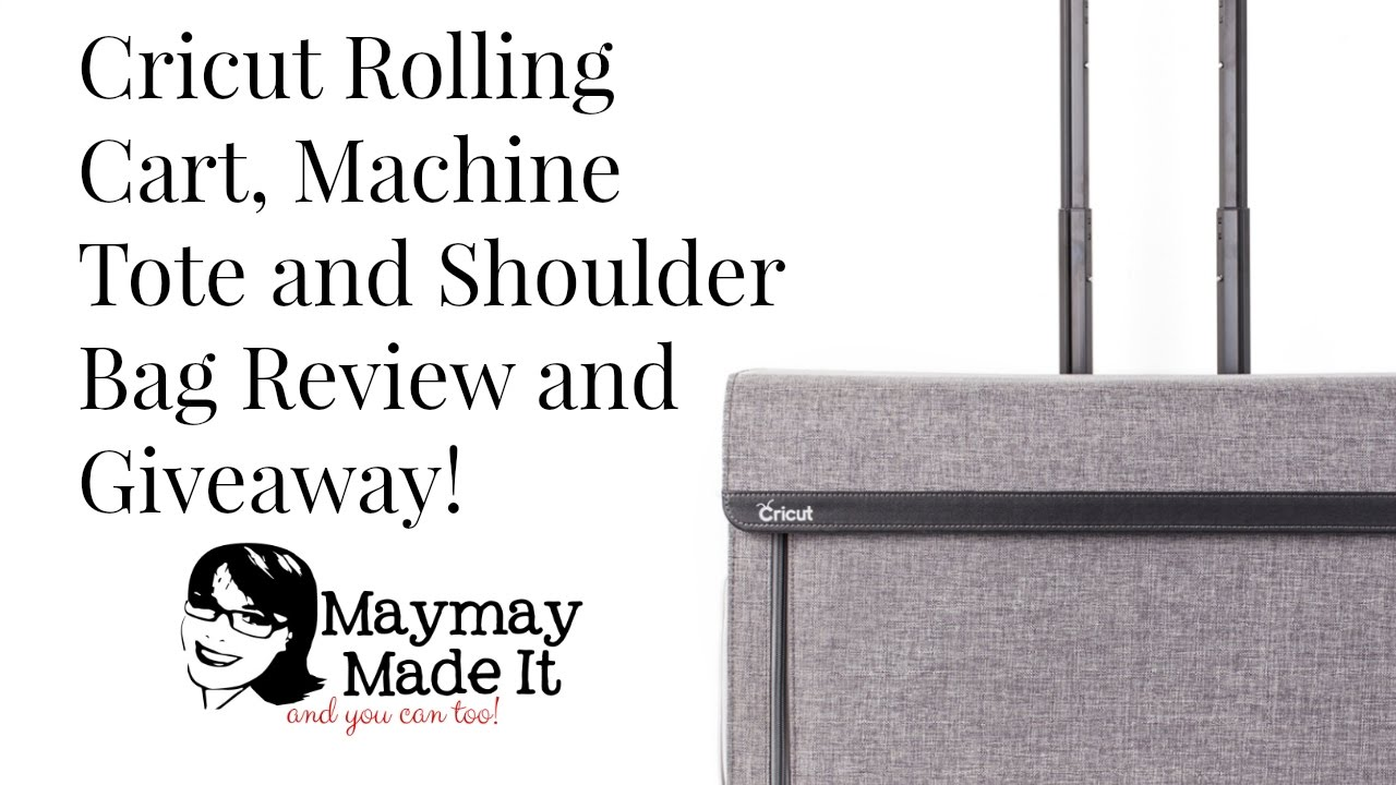 Cricut Rolling Tote, Cricut Tote and Personal Tote Bag Review and Giveaway  Announcement