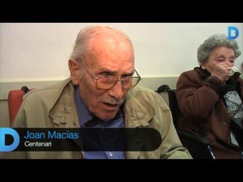 Sarrià–Sant Gervasi homenatja els veïns centenaris