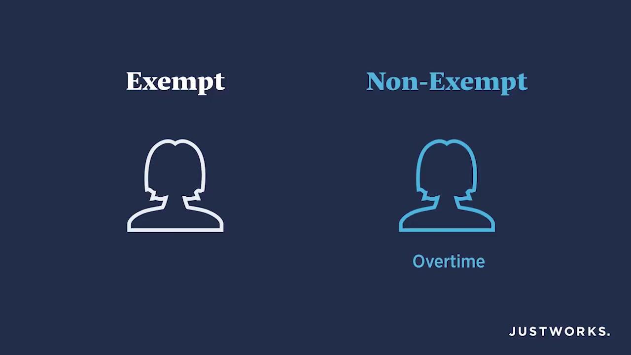 flsa exempt vs non exempt dol