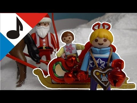 Jingle Bells - chants de Noel Playmobil - La Famille Hauser  / film pour enfants