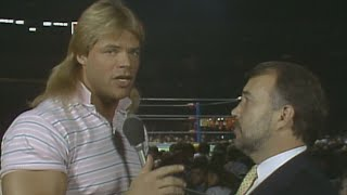 Barry Windham vs. Tully Blanchard - Title Match: NWA World Championship Wrestling, Jan. 23, 1988